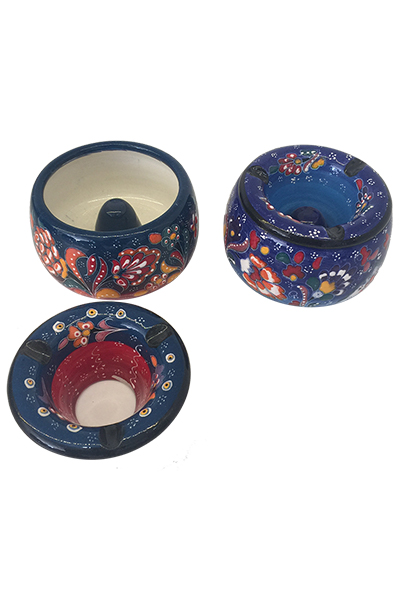 Small & Large Size Capped Ashtray