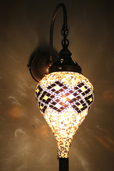 Bullet Glass Antique Mosaic Wall Lamp