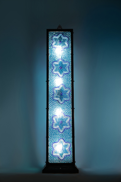 Decorative Antique Mosaic Floor Lamp
