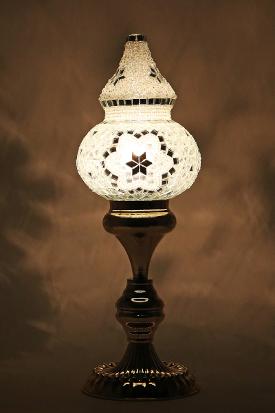 Dome Shaped Style Mosaic Table Lamp