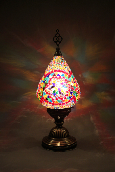 Awesome Turkish Drain Mosaic Table Lamp