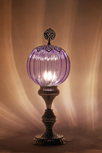 Pyrex Glass Classic Design Table Lamp