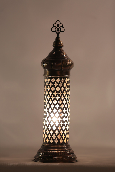 Decorative Blown Glass Table Lamp Model 2