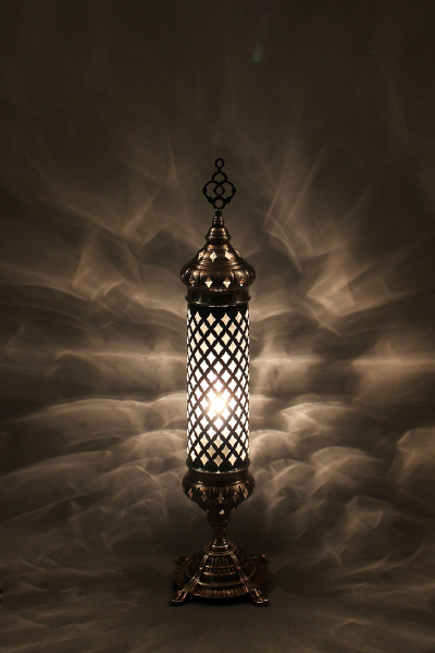 Decorative Blown Glass Table Lamp Model 1