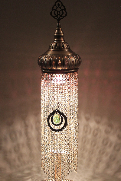 Exclusive Chained Turkish Table Lamp Size 2