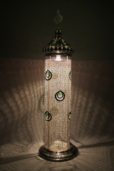 Exclusive Chained Turkish Table Lamp Size 5
